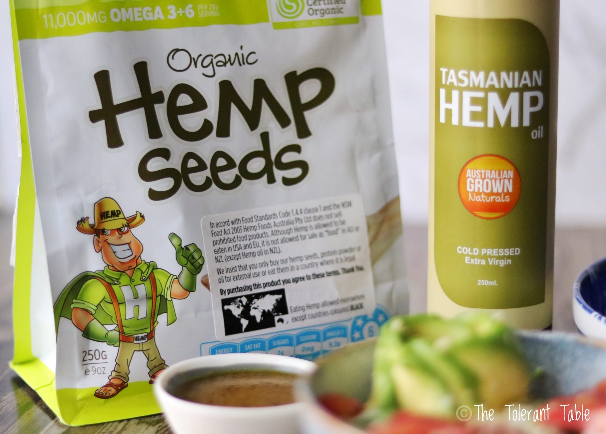 Hemp Seed Nutrition And Health Benefits The Tolerant Table