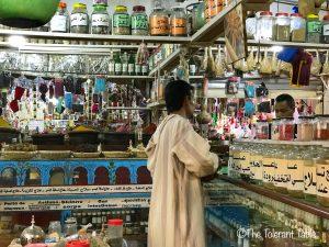 Spice Merchant in store_Morocco