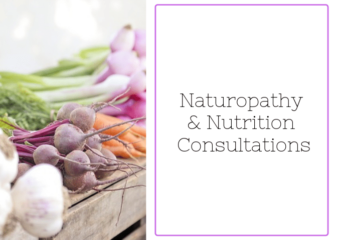 Naturopathy and Nutrition Consultations